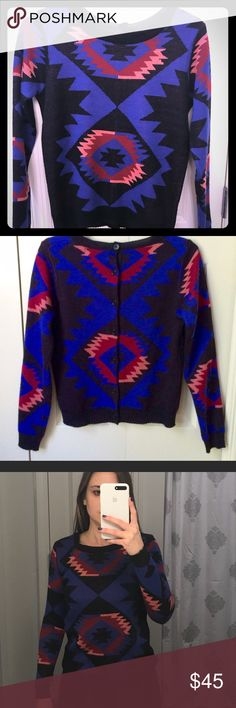 I just added this listing on Poshmark: Aztec Print Crewneck Sweater Urban Outfitters. #shopmycloset #poshmark #fashion #shopping #style #forsale #Lucca Couture #Sweaters