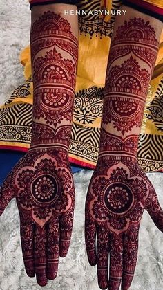 Henna Design By Fatima Wedding Henna Designs, Engagement Mehndi Designs, Beginner Henna Designs, Back Hand Mehndi Designs, Latest Bridal Mehndi Designs, Full Hand Mehndi Designs, Mehndi Designs Book, Mehndi Design Images, Beautiful Mehndi Design