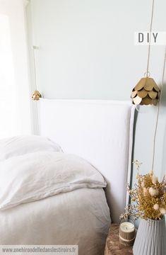DIY tête de lit déhoussable Aix En Provence, Der Plan, Sweet Home, Home Decor, Diy Lit, Couture, Bedroom Ideas, Diy Ideas, Blog
