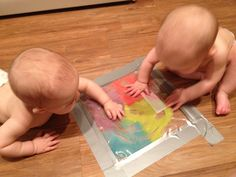 Our little sweet peas: Infant activity