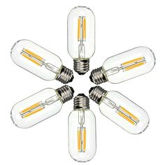 KINGSO 6 Pack E27 4W T45 Cob Led Vintage Light Retro Edison Style Screw Technology 40W Incandescent Bulb Equivalent Tubular Nostalgic Filament Not Dimmable Warm White 2700K 400LM Amber Tinted King so http://www.amazon.ca/dp/B0140V2UUC/ref=cm_sw_r_pi_dp_B5A0wb03F18H7