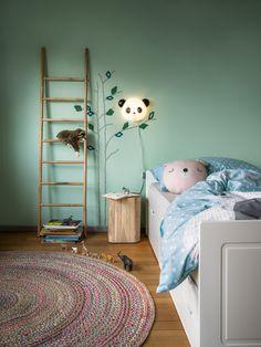 Micasa Kinderzimmer mit Zierkissen LUIS & Anlehnleiter GWYNETH Kids Rugs, Bed, Furniture, Home Decor, Environment, Quartos, Objects, Child Room, Bedrooms