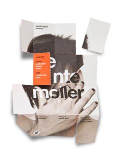 Cool foldable brochure by design studio face.