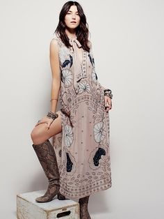 Free People Stuck on You Embellished Maxi, $498.00