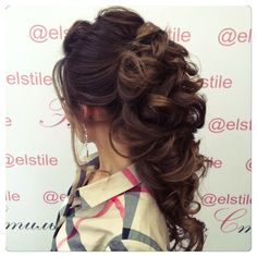 Lovely bridal look Make up, hairstyles Web: www.elstile.ru, www.elstile.com