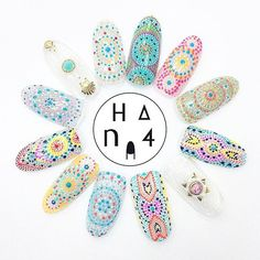 information 6/6.6/7は @nailpartner 名古屋・大阪にてセミナーです! 夏にぴったりのアートをいくつかご紹介 このデザインもやります! #Hana4dotart ・ #Hana4seminar #Hana4art #nailpartner