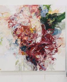 Contemporary art gallery located in San Francisco and St. Specializing in American and European paintings, drawings, sculpture, and prints Abstract Flowers, Large Art, Artist Art, Painting Inspiration, New Art, Flower Art, Watercolor Art, Illustrations, Art Projects
