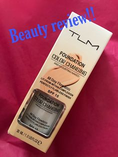 beauty review!! TML Color changing Foundation Hit or Miss!!?! Dermacol Foundation, Medium Coverage Foundation, Foundation Colors, Lots Of Makeup, Tinted Moisturizer, Beauty Review, Color Change, Really Cool Stuff, Im Not Perfect