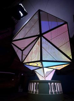 Prism installation of London's data in the cupola of V&A museum by Keiichi Matsuda for London Design Festival. Illumination Art, London Design Festival, London Museums, Inspiration Wall, Victoria And Albert Museum, Art Object, Urban Landscape, Data Visualization, Art Google