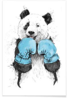 The Winner en Affiche premium par Balázs Solti | JUNIQE