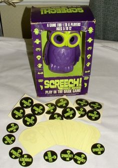 i remember my older aunts playing this - not sure how it's played but i remember lights shooting out of the owls eyes. creepy