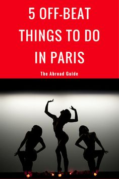 Get off the beaten path and try something different when visiting or studying abroad in Paris. 5 Alternative Things to Do in Paris