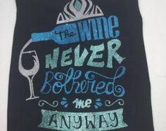 Food And Wine Shirt | Disney Food and Wine | Disney Princess Wine | Epcot Food and Wine | Princess Drinking Team | Disney Princess