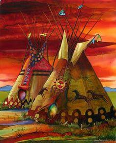 Tasunk'a Oyat'e Otipi (Horse Nation Homes).                                                                                                                                                     More