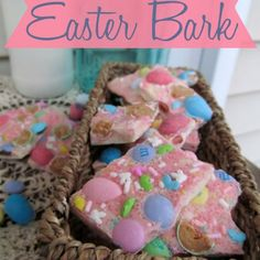 Loaded White Chocolate Easter Bark