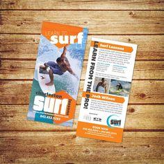 78 best design rack cards images on pinterest flyer design charleston surf lessons desautels designs rack card charlestonsurflessons colourmoves