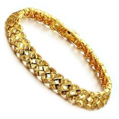 Produce Jewelry K Gold Plated Individuality Present Hollow Out Lady Bracelet With KS