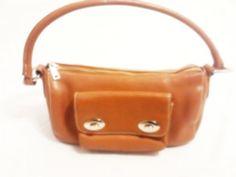 Talbots Leather Shoulder Bag Purse Handbag in Brown