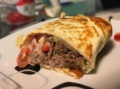 Low Carb Big Mac Wrap