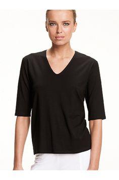 Elbow top - MELA PURDIE - Brands  Mela Purdie classic V neckline elbow length sleeve top  https://www.ignazia.com.au