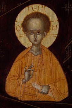 Byzantine Icons, Religious Art, Gabriel, Catholic, Statue, Artwork, Jesus, Ih, Sacred Art