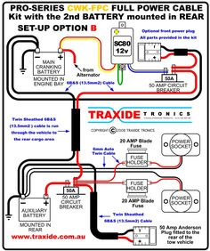 Travel Trailer Battery Hook Up Diagram Temperature Effects On - Trailer wiring diagram au