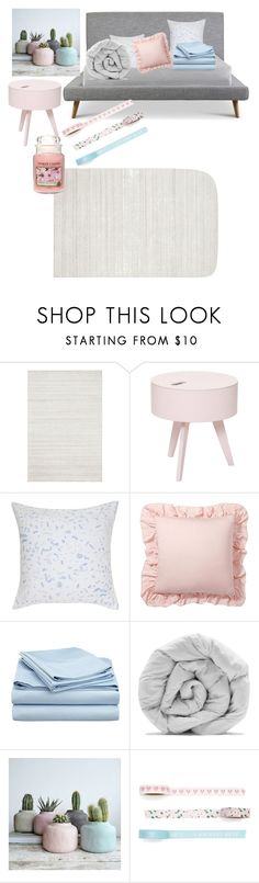 """""""Untitled #49"""" by mckalethompson on Polyvore featuring interior, interiors, interior design, home, home decor, interior decorating, Loloi Rugs, Bloomingville, Pottery Barn and M&Co"""