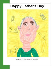 FathersDayCover2-free app making books with pre-schoolers