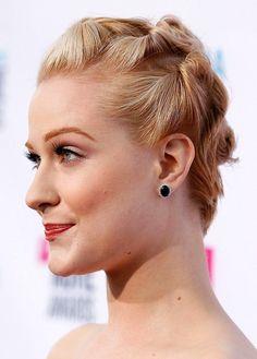Плетение косичек-жгутиков на коротких волосах ::: onelady.ru ::: #hair #hairs #hairstyle #hairstyles