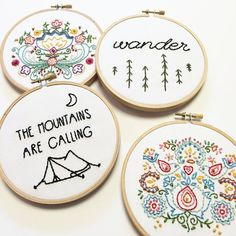 I am #dbsobsessed with these minimalist embroidery hoops from Urbann Nest on Etsy! dbsobsessed.com coupon code for this great home decor, available now at dbsobsessed.com!