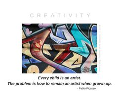 Every Child is an Artist...