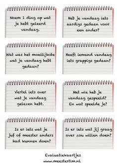 evaluatiekaartjes - meestertim.nl