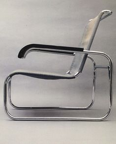 Marcel Breur's chair (1928) reflects the universal appeal movement through its lack of 'decoration' and timeless appeal. The chair strictly follows its function and does not include elements which are not necessary for its purpose. This ideology complements my personal preferences regarding design, which is minimalistic and simple.