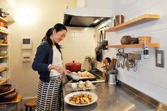 キッチンも、シンプルかつナチュラルなテイストでまとめられている。