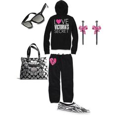 """ViCtOrIa SeCrEt """"PINK"""" (:    Created by: Polyvore"""
