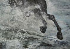 """""""Beach"""" Acrylic on Canvas 100 cm x 80 cm"""