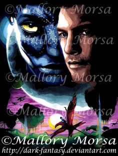 Avatar Poster by *ArtByMalloryMorsa on deviantART Avatar Poster, Avatar Movie, Marker Art, Joker, Deviantart, Dark, Gallery, Movies, Fictional Characters