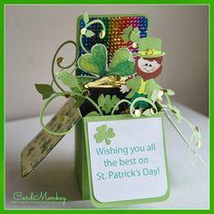 rainbow pop up card - Scrapbook.com