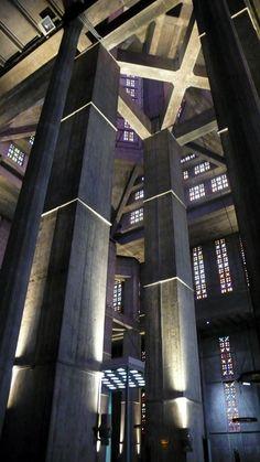 st. joseph church / auguste perret Ossature béton à la manière de l ossature bois