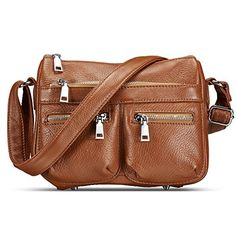 fae44dce24 Lecxci Women s Small Soft Leather Multi-Purpose Crossbody Handbag Shoulder Travel  Bags Purses For Women (Black)  Handbags  Amazon.com