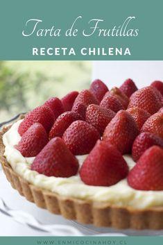 Tartaleta de frutillas | En Mi Cocina Hoy