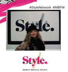 Boxi pic at MBFW with Style Network!