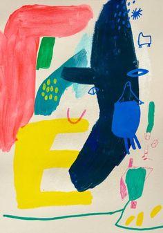 "Saatchi Art Artist Trendafila Trendafilova; Drawing, ""The blue man"" #art"