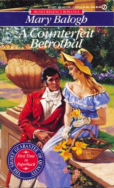 Mary Balogh - A Counterfeit Betrothal 	  June, 1992