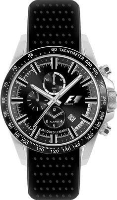 a22aec205b13 Jacques Lemans Watch F1 F-5007I Alarm Chrono NOW 30% OFF
