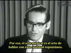 Bill Evans discusses his creative process in a fascinating 1966 documentary, The Universal Mind of Bill Evans.  They begin with a discussion of #improvisation and the nature of #jazz, which Evans sees as a process rather than a style. He then moves to the #piano to show how he builds up a jazz improvisation, starting with a simple framework and then adding layers of rhythmic, harmonic and melodic variation.