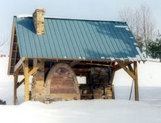 This wood kiln was built by Bryan Mattraw and Robert in the summer of Robert wanted a small salt kiln that could be fired quickly, with wood or gas, for testing salt glazes. The kiln was originally constructed before … Read Wood Kiln, Firewood, Pottery, Clay, Construction, Cabin, House Styles, Building, Home Decor