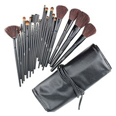 FASH Professional goat hair and nylon makeup Brush Set with Faux Leather Pouch, 21-Piece,For Eye Shadow, Blush, Eyeliner, eyebrow..... FASH Limited http://www.amazon.com/dp/B0047SF9K2/ref=cm_sw_r_pi_dp_foSUub0WBQ0KC