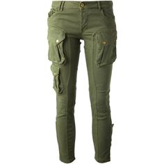 CYCLE slim cargo trouser ($186) ❤ liked on Polyvore featuring pants, bottoms, jeans, pantalones, cycling pants, skinny cargo pants, green pants, cropped pants and zipper pants