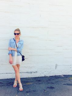Southern California street style. Denim Jacket, Sunglasses and my new favorite online retailer